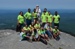 At the top of Mt. Monadnock!