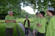 Bob Mackenzie and park-based interns