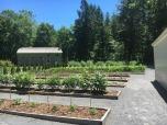 Garden at Eleanor Site at Val-Kill.
