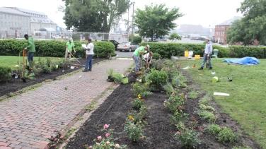 Commandants House Garden Redesign Project